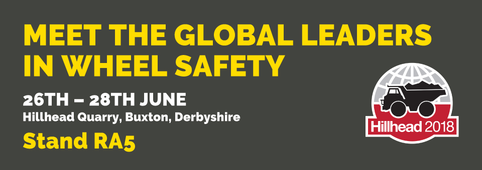 Meet the global leaders in wheel safety at Hillhead 2018