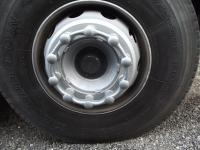 Safewheel™ in Silver, 10-stud shown fitted to a wheel