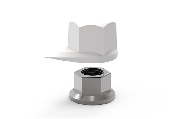 33mm Dustite Wheel Nut Indicator Black Pack of 100